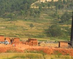 Brick factory view from ChukkiMane