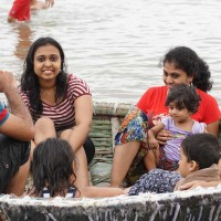Enjoy coracle ride with your family at Barachukki waterfalls near Bangalore