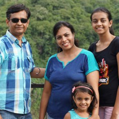 Family Outing to Shivanasamudra Waterfalls near Bangalore