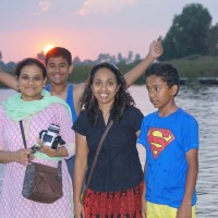 Family outing to Talakadu