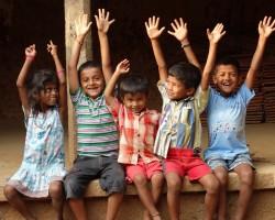 Happy kids photography