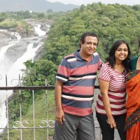 One day family trip to Shivanasamudra waterfalls