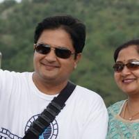 Selfie time at Shivanasamudra