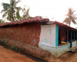 Village houses photography
