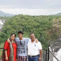 Weekend family holiday to Shivanasamudra waterfalls