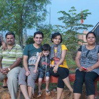 Weekend family outing resorts near waterfalls