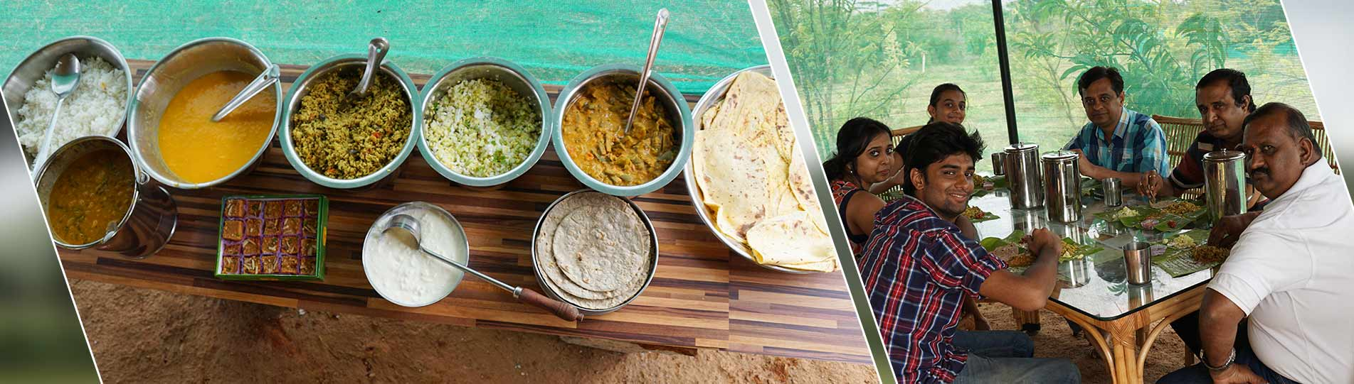 Traditional mysore food served at ChukkiMane