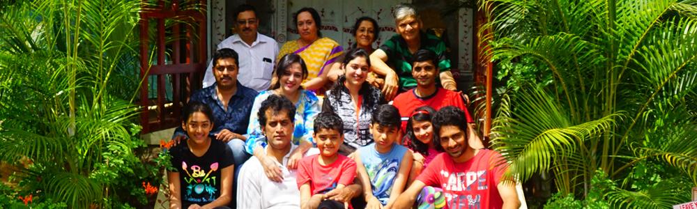 family outing near to shivanasamudra